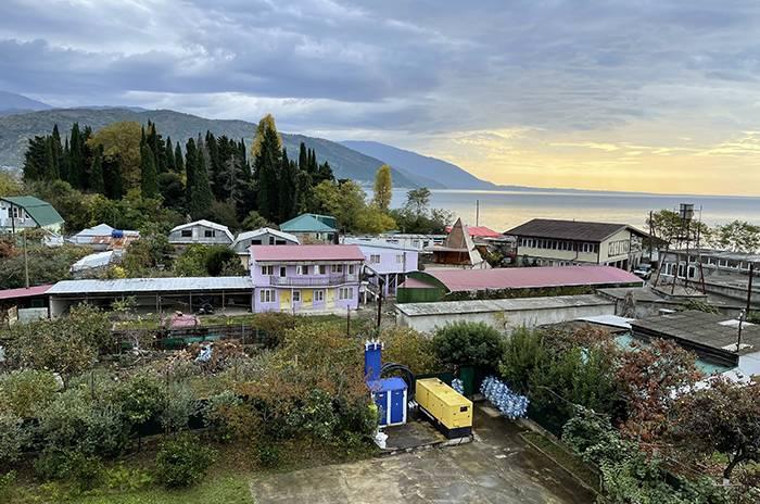 корпус гостиницы