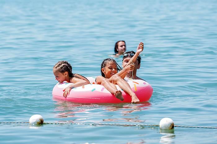 пляж здравницы