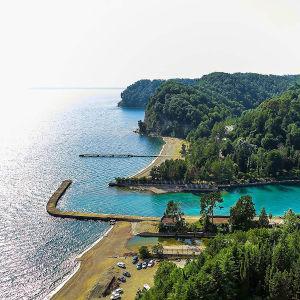 пляжный отдых в Абхазии